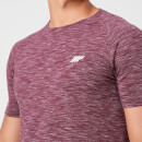 Performance T-Shirt - XS - Burgundy Marl