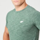 Performance T-Shirt - Green Marl - XS - Dark Green Marl