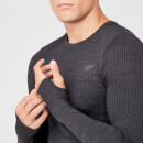Myprotein Sculpt Seamless Long Sleeve T-Shirt - Slate - XS