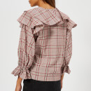Rejina Pyo Women's Camilla Blouse - Cotton Check Red