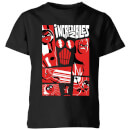 The Incredibles 2 Poster Kids' T-Shirt - Black