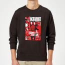 The Incredibles 2 Poster Sweatshirt - Black