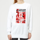 The Incredibles 2 Poster Women's Sweatshirt - White