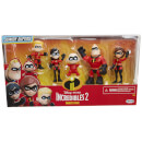 Jakks Pacific Disney Incredibles 2 Precool 3 Inch Figures 2 Family Pack