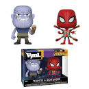 Figurines Vynl. Thanos et Iron Spider Marvel