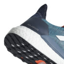 adidas Solar Glide Running Shoes - Ink/White