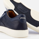 Polo Ralph Lauren Men's Court 100 Leather Trainers - Newport Navy