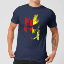 Ant-Man And The Wasp Split Face Men's T-Shirt - Navy