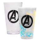 Marvel Avengers Large Glass