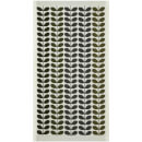 Orla Kiely Multi Stem Towels - Moss (Pack of 2)