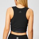 adidas Women's Crop 2.0 Top - Black