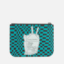 McQ Alexander McQueen Women's Medium Pouch - Green/Black/Pink