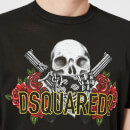 Dsquared2 Men's Pressato Long Fit T-Shirt - Black