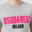 Dsquared2 Men's Destroyed T-Shirt - Grey Melange