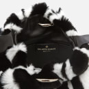 Les Petits Joueurs Women's Holly Fur Bag - Black/White