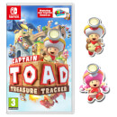 Captain Toad: Treasure Tracker (Nintendo Switch) + Captain Toad & Toadette Pins