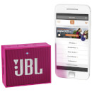 JBL GO Portable Bluetooth Speaker - Pink