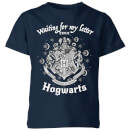 Camiseta Harry Potter Waiting For My Letter - Niño - Azul marino