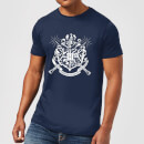 Harry Potter Hogwarts House Crest Men's T-Shirt - Navy
