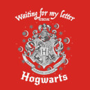 Harry Potter Waiting For My Letter From Hogwarts Women's T-Shirt - Red
