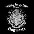 Harry Potter Waiting For My Letter From Hogwarts Women's T-Shirt - Black