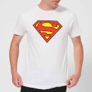 T-Shirt Homme Bouclier Officiel Superman DC Originals - Blanc