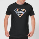 T-Shirt Homme Logo Superman Fleuri DC Originals - Noir