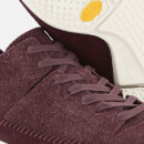 Clarks Originals Men's Trigenic Flex Suede Trainers - Burgundy