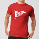 England Pennant Men's T-Shirt - Red