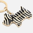 Radley Women's Go Walkies New Keyring - Zebra