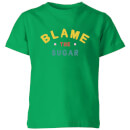 My Little Rascal Blame The Sugar Kids' T-Shirt - Kelly Green