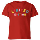 My Little Rascal Limited Edition Kids' T-Shirt - Red