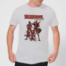 Marvel Deadpool Family Group Men's T-Shirt - Grey