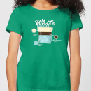 Infographic White Russian Women's T-Shirt - Kelly Green