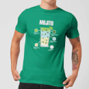 Mojito Men's T-Shirt - Kelly Green