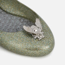 Vivienne Westwood for Melissa Women's Space Love 20 Ballet Flats - Grass Bee Glitter
