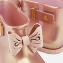 Mini Melissa Toddlers' Sugar Rain Fairy Boots - Rose Gold