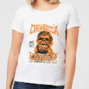T-Shirt Femme Star Wars Chewbacca One Night Only - Blanc