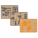 Nintendo Labo Toy-Con 02: Robot Kit: Replacement Pack (Visor, Feet & Joy-Con Holder)