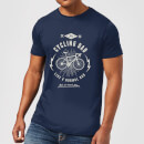 Cycling Dad Men's T-Shirt - Navy