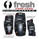 Freshpark Fresh Padset (Elbow, Knee, Wrist) - Black