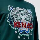67566950 KENZO Men's Classic Tiger Sweatshirt - Pine Green - Free UK Delivery ...