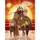 "Star Wars Solo ""Buckle Up"" Zavvi UK Exclusive Print by Teddy Wright IV (18 x 24 Inches)"