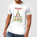 Bobs Burgers Bob's Food Pyramid Men's T-Shirt - White