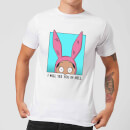 T-Shirt Homme I Will See You In Hell Bob's Burgers - Blanc