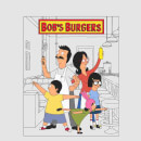 Bobs Burgers Family Business Men's T-Shirt - Grey