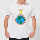 T-Shirt Homme A World Without A Gene Bob's Burgers - Blanc