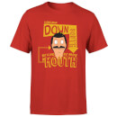 T-Shirt Homme A Gentleman Down South Bob's Burgers - Rouge