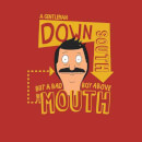 Bobs Burgers A Gentleman Down South Men's T-Shirt - Red