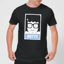 Bob's Burgers Propaganda Tina Butts Men's T-Shirt - Black
